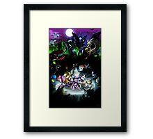 Final Showdown Framed Print