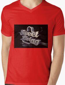 sweet living Mens V-Neck T-Shirt