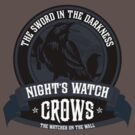 Night's Watch Crest by liquidsouldes