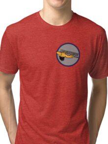 ThunderGun Graphics Tri-blend T-Shirt