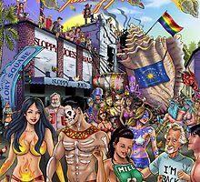 SheVibe Takes On Key West Fantasy Fest by shevibe