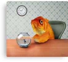 A Fish Out of Water Canvas Print