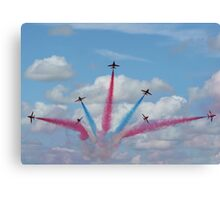 Red Arrows 03 Canvas Print