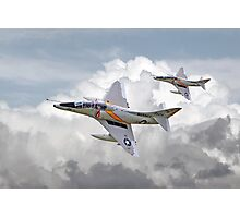 Douglas  Skyhawk A4 - Scooter Photographic Print