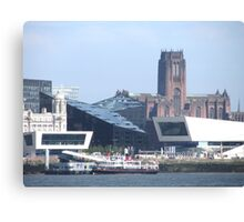 LIVERPOOL WATER FRONT Canvas Print