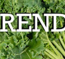 Trendy Kale Sticker