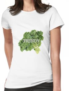 Trendy Kale Womens Fitted T-Shirt