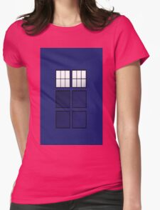 TARDIS Womens Fitted T-Shirt