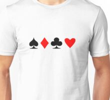 Poker Suite Unisex T-Shirt