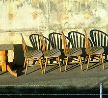 Table and Chairs  by Ethna Gillespie