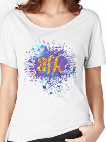 AFK Women's Relaxed Fit T-Shirt