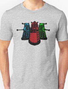 Pop Daleks Unisex T-Shirt