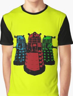 Pop Daleks Graphic T-Shirt