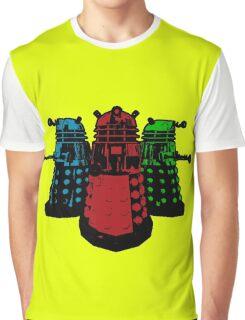 Pop Daleks Graphic T-Shirt