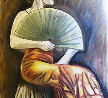 'Flamenco Fan' by Quinten Rhea