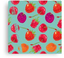 Sweet Berries Canvas Print