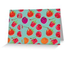 Sweet Berries Greeting Card