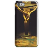 Christ of Saint John of the Cross iPhone Case/Skin