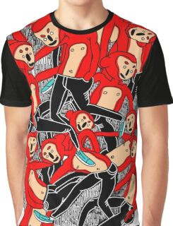 City hipster monkey Graphic T-Shirt