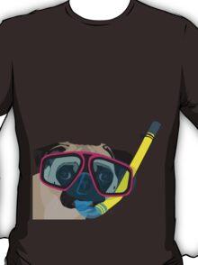 Snorkel Pug, Snorkel Pug! Does whatever a snorkel pug does!!! T-Shirt