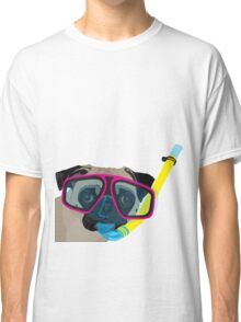 Snorkel Pug, Snorkel Pug! Does whatever a snorkel pug does!!! Classic T-Shirt