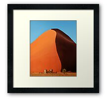 Out of Namibia Framed Print