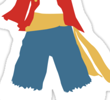 Monkey D Luffy Sticker