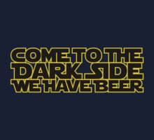 Come to the dark side we have beer (yellow black) by hardwear