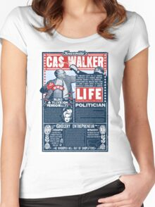 Knoxville's Cas Walker. Country Music. Dolly Parton Women's Fitted Scoop T-Shirt