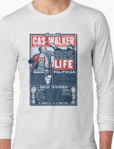 Knoxville's Cas Walker. Country Music. Dolly Parton Long Sleeve T-Shirt