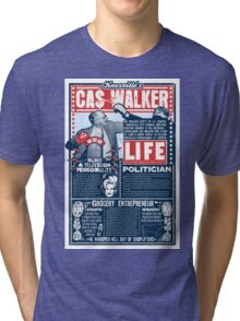 Knoxville's Cas Walker. Country Music. Dolly Parton Tri-blend T-Shirt