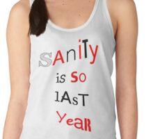 Sanity–Harley Quinn inspired Women's Tank Top