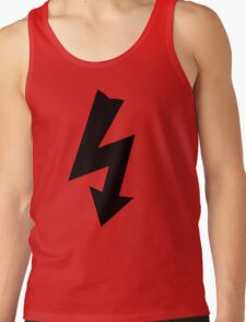Electrical Warning Symbol Tank Top