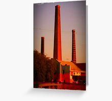 St Peters chimneys Greeting Card