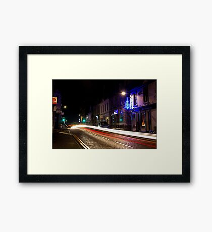 Kilbirnie Main Street at Christmas 2 Framed Print