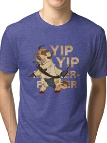 YIP YIP MOTHER F**KER Tri-blend T-Shirt
