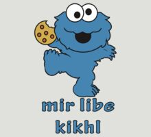 cookie monster in Yiddish by MoisheZ