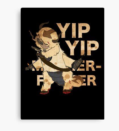 YIP YIP MOTHER F**KER Canvas Print