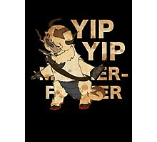 YIP YIP MOTHER F**KER Photographic Print
