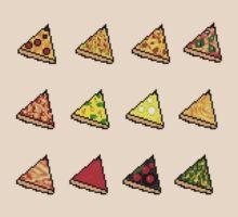 Pixel Pizza Grid by Save Room Mini Bar