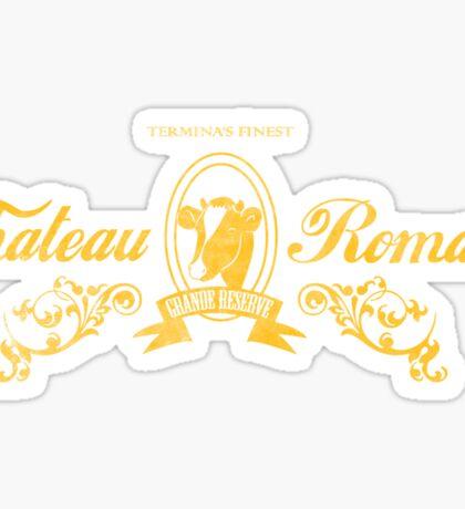 Chateau Romani Sticker