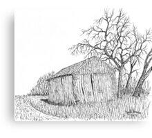 Machine Shed Canvas Print