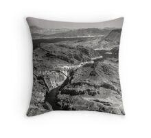 Hoover Dam Bypass Throw Pillow