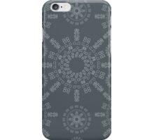 Monogram pattern (B) in Turbulence iPhone Case/Skin
