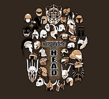 Helmets of fandom - respect the head! Unisex T-Shirt