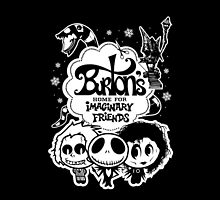 Burton's Imaginary Friends by warbucks360