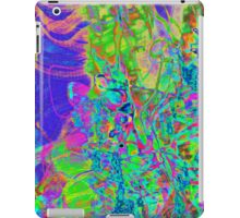 psychedelic inverted rainbow experimental photgraphy iPad Case/Skin