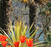 Palms & Tulips Sticker