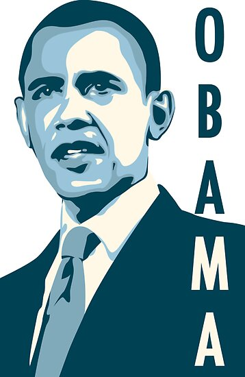 obama : verticle text by asyrum