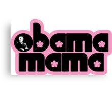 obama mama Canvas Print